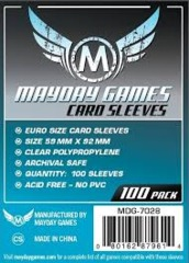 Mayday Games - 59 x 92 Card Sleeves (Pack of 100)