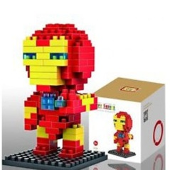 Iron Man Mini Building Blocks