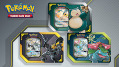 Pokemon Tag Team Tins - Eevee Snorlax