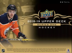 Upper Deck Series 1 Hockey 18/19 Retail Booster Box
