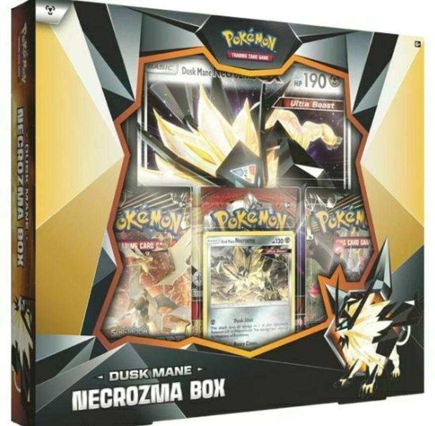 Pokemon Dusk Mane Necrozma Box International Version