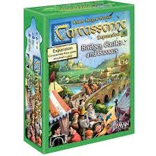 Carcassonne Expansion 8 -Bridges, Castles & Bazaars