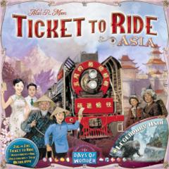 Ticket to Ride: Asia & Legendary Asia (multilangue)