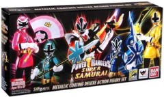 S.H. Figuarts - Power Rangers Samurai Metallic 5 Action Figure Set