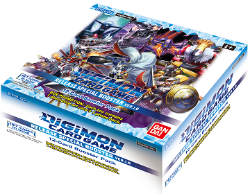 Digimon Card Game Release Special Booster Box Version 1.0