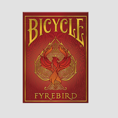 Bicycle Playing Cards Fyrebird