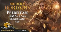 Modern Horizons Prerelease June 9th 6:30PM