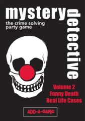 Mystery Detective: The Crime Solving Party Game Vol 2