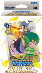 Digimon Card Game Starter Deck - Heaven's Yellow