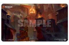 Guilds Of Ravnica - Sacred Foundry Playmat