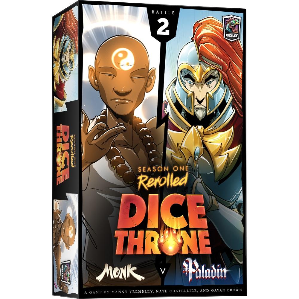 Dice Throne S1R Box 2 Monk Vs Paladin