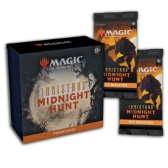 Innistrad: Midnight Hunt Prerelease at Home + 2 Set Booster Packs Take Home Version