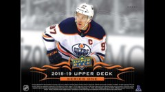 2018-2019 Upper Deck Series One Hockey Booster Box