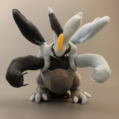 Black Kyurem Large Plush