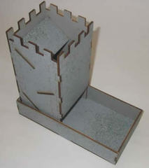 Blue Panther Dice Tower - Stone