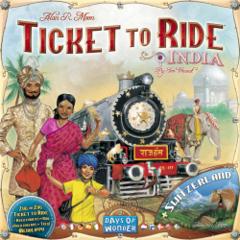 Ticket to Ridel: India & Switzerland (multilangue)