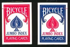 Bicycle Deck: Jumbo Index Poker Cards