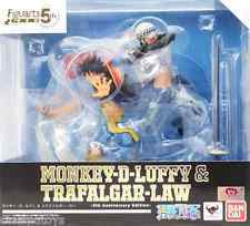 Figuarts Zero:  Monkey D. Luffy & Trafalgar Law