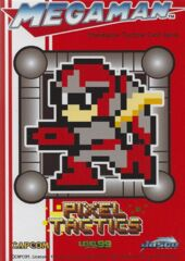 Megaman Pixel Tactics Protoman - Red