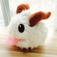 White Poro Plush