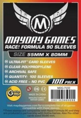 Mayday - Premium Card Sleeves 55mm X 88Mm 50Ct