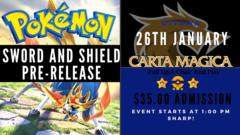 Pokemon Sword and Shield Pre-Release Kit