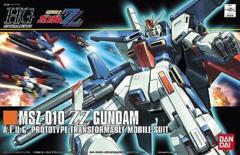 HG MSZ-010 ZZ Gundam A.E.U.G. Prototype Transformable Mobile Suit
