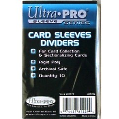 UP Card Sleeves Dividers 10PK