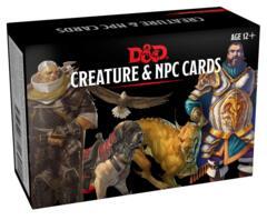 D & D - Creature & NPC Cards