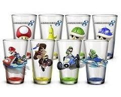 MARIO KART 8 - 4 Glass Set