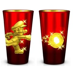 SUPER MARIO - Golden Mario Pint Glass