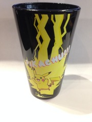 POKEMON - Pikachu Black Pint Glass