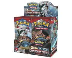 Pokemon Crimson Invasion Booster Box