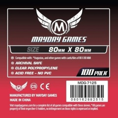 Mayday - Standard Card Sleeves 80Mm X 80Mm 100Ct