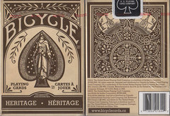 Bicycle Heritage Deck - Playing cards