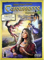 Carcassone Expansion 3 The princess & The Dragon