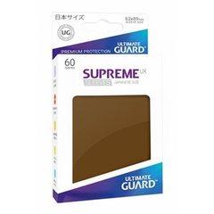 Sleeves: Supreme UX Japanese Brown (60)