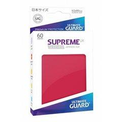 Sleeves: Supreme UX Japanese Red (60)