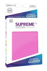 Ultimate Guard Supreme Matte Sleeves -  Pink