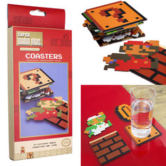 Super Mario Bros. Collectors Edition Coasters