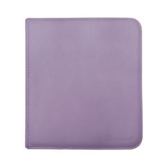 Ultra Pro - Zipper Binder Pro 12 pocket Purple