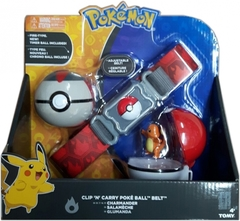 TOMY Pokemon - Clip 'N' Carry Poké Ball Belt Charmander