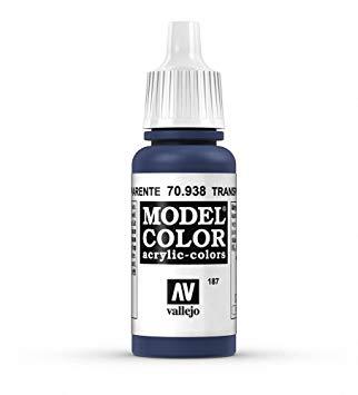Vallejo Colours - Transp. Blue