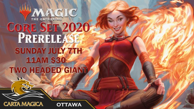 Core Set 2020 Prerelease Event 2HG - Sunday July 7th - 11:00am