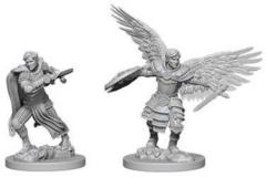 Nolzur's Marvelous Miniatures - Aasimar Fighter