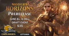 Modern Horizons Prerelease June 8th 6:30PM