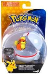 Tomy Pokemon - Growlithe + Premier Ball