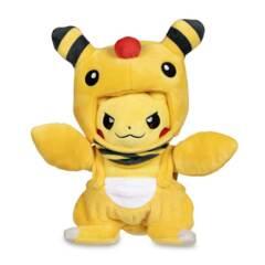 Disguised Pikachu Ampharos Plush