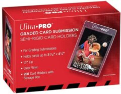 Ultra Pro - Graded Card Submission Semi-Rigid Card Holders 200 CT