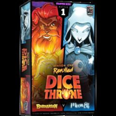 Dice Throne S1R Box 1 Barbarian Vs Moon